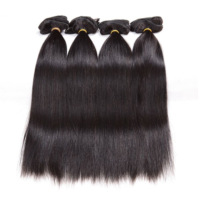 New Type Virgin Clip in Human Hair Extensions Full Head Peruvian Virgin Hair