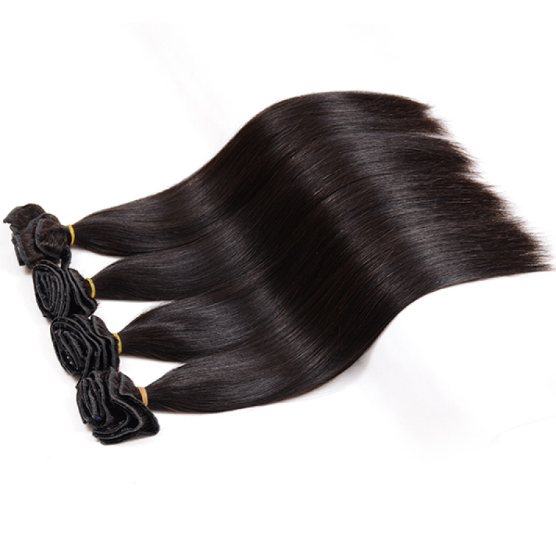 Peruvian Clip In Hair Extensions Natural Hair Clip In Remy Human Extensions