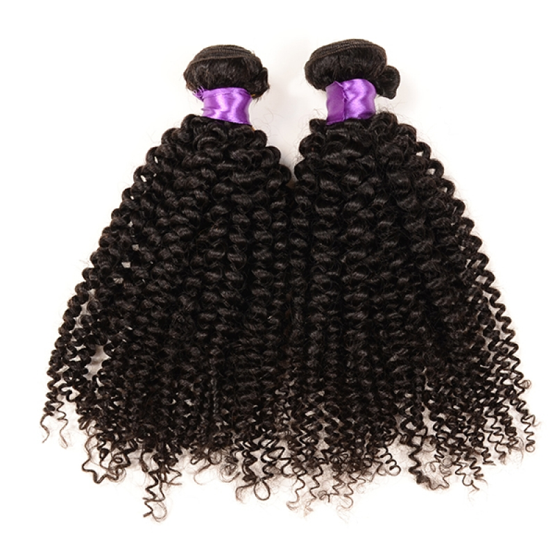 High Quality Peruvian Virgin Hair Wavy 100% Raw Human Kinky Curly Hair Bundles