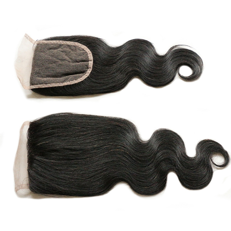Wholesale Hair Extensions 100% Virgin Pure Brazilian Hair Bundle With Closure