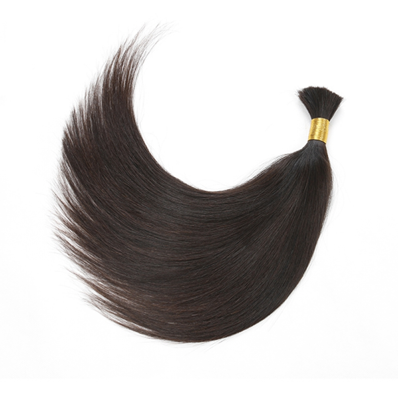 Indian Virgin Bulk Human Hair 100% Human Hair Remy Bulk  6a Top Quality