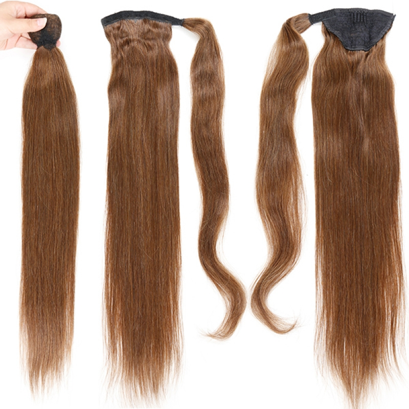 HOT Selling 20inch Fashion Ponytail Hairpieces Human Hair Ponytail Extensions