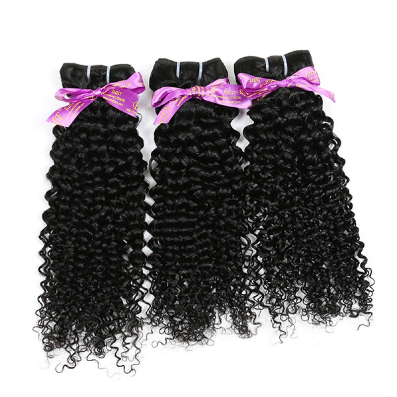 Real Human Curly Hair Peruvian Curly Hair Mix Length Peruvian Kinky Curly