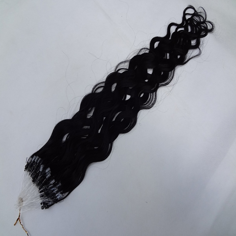 Natural Micro Ring Hairstrands micro loop hair Extensions